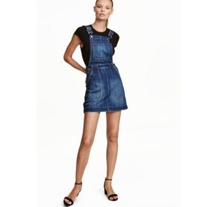 H&M Dresses - Denim Dress Overalls